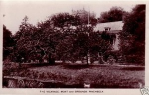 AOS P 0157 The Vicarage, Moat and Grounds Pinchbeck