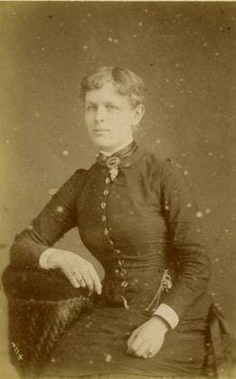 Photo of a young Woman, Spalding