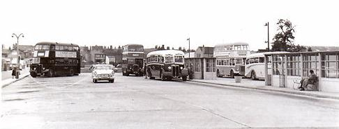 Spalding Bus Station 1960