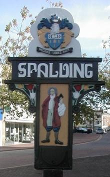 Spalding Town Sign