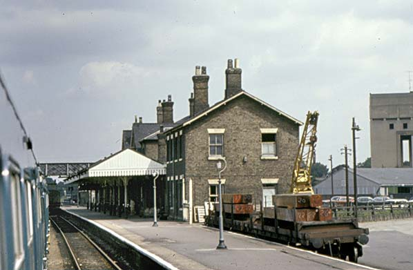 Spalding Station – late 1960's?