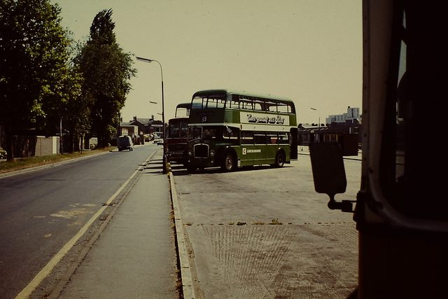 Spalding – Bus Station and Buses