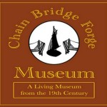 Chain Bridge Forge sign square