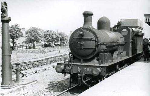 M&GN 060 at Spalding Station