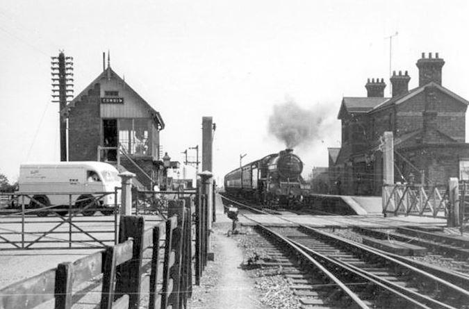 Cowbit Railway Station
