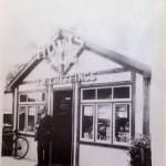 J. W. Cheffings grocer in Bear Lane in Pinchbeck