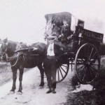Alfred Well's delivery cart