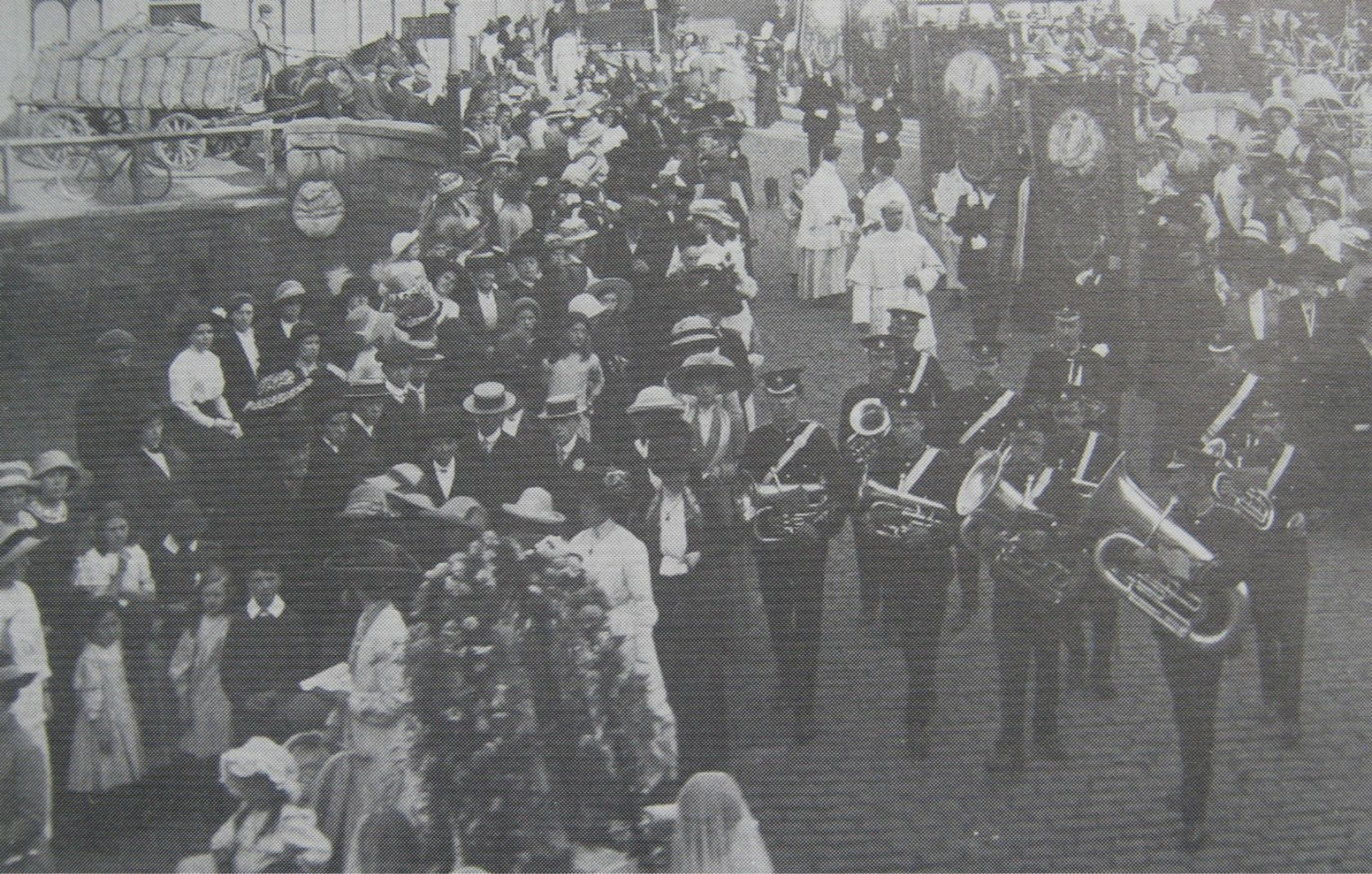 Catholic Procession, Spalding 1913