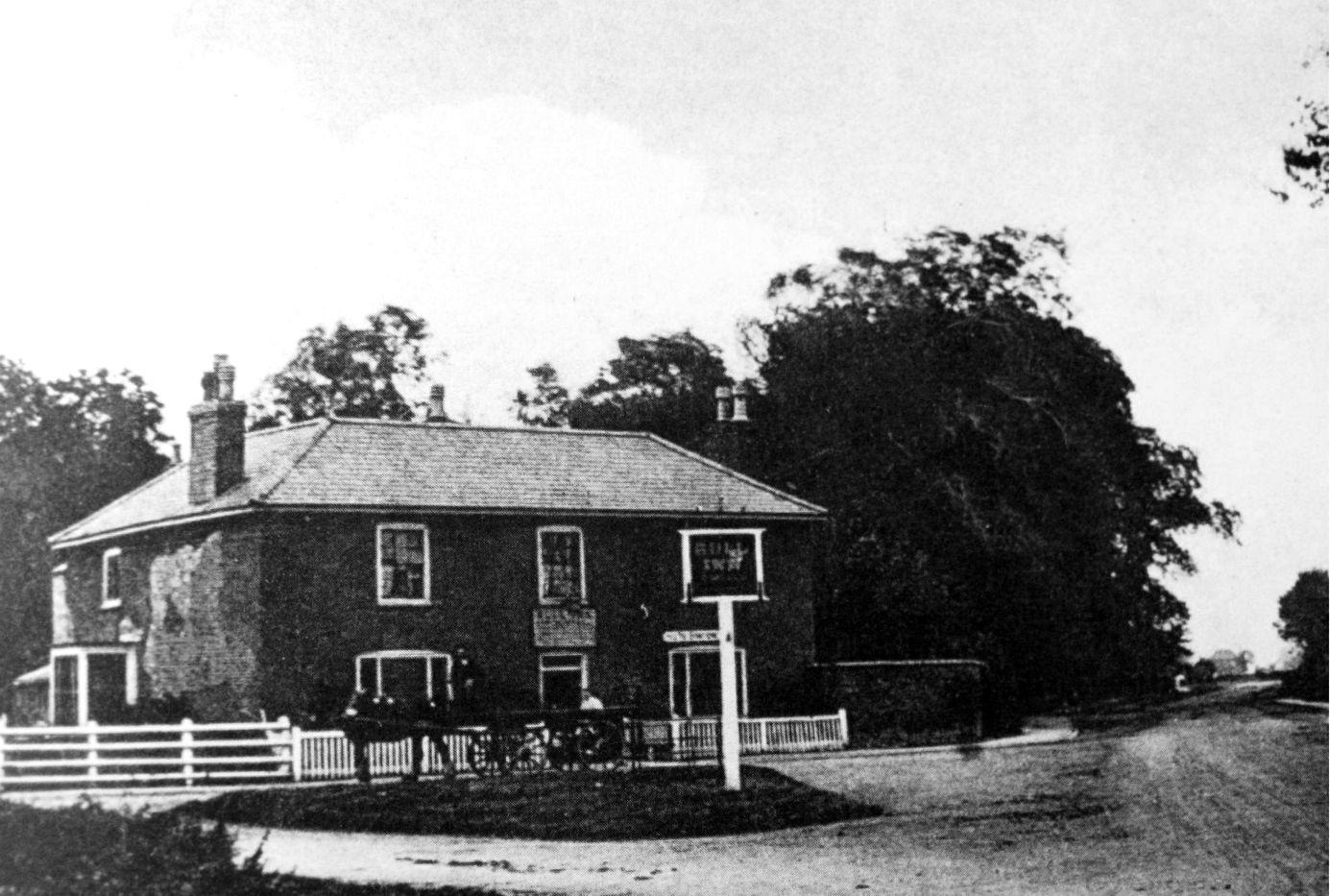 The Bull Inn, Pinchbeck 1910