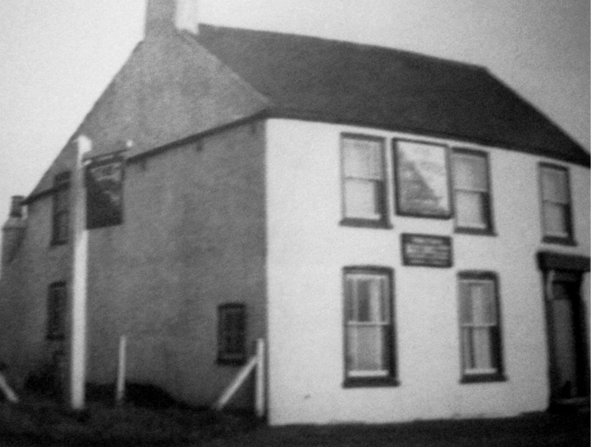 The Dun Horse Inn, Moulton Eaugate 1949