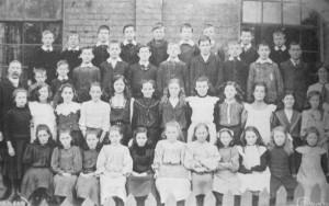 AOS P 1889  east pinchbeck national school 1910. headmaster was P.N.H  Hooks