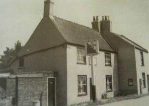 AOS P  1908  the cuckoo inn, cuckoo bridge 1950