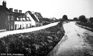 AOS P 1913  view from herring bridge looking along glenside south pinchbeck