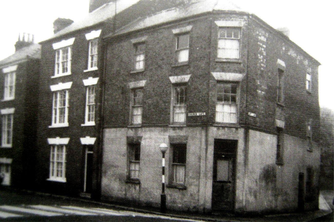 Old corner house, top of Love Lane, Spalding