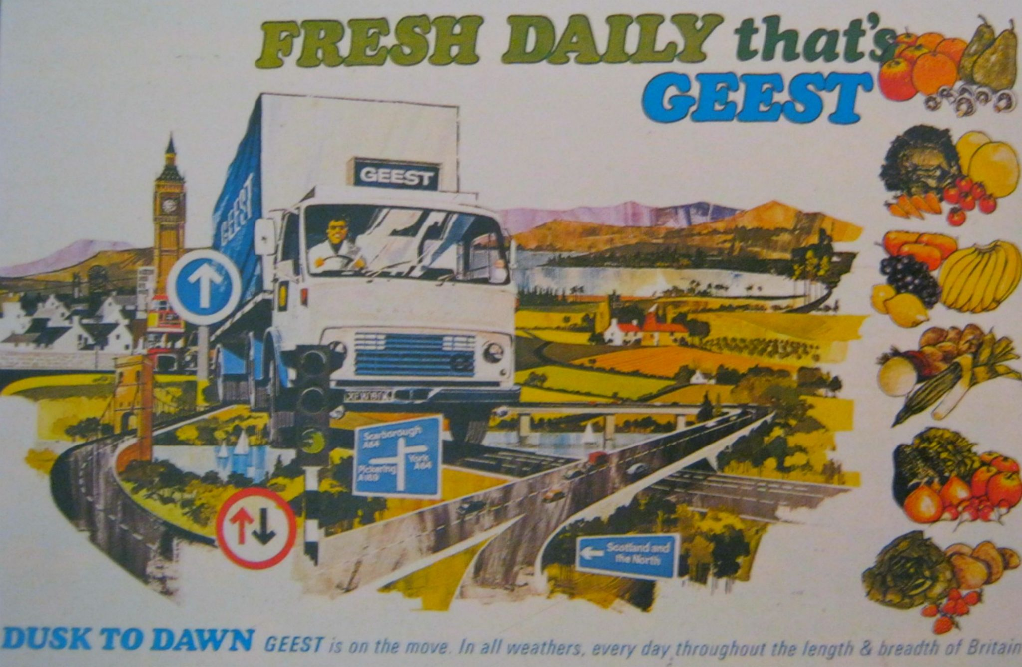 Geest Advertising Poster