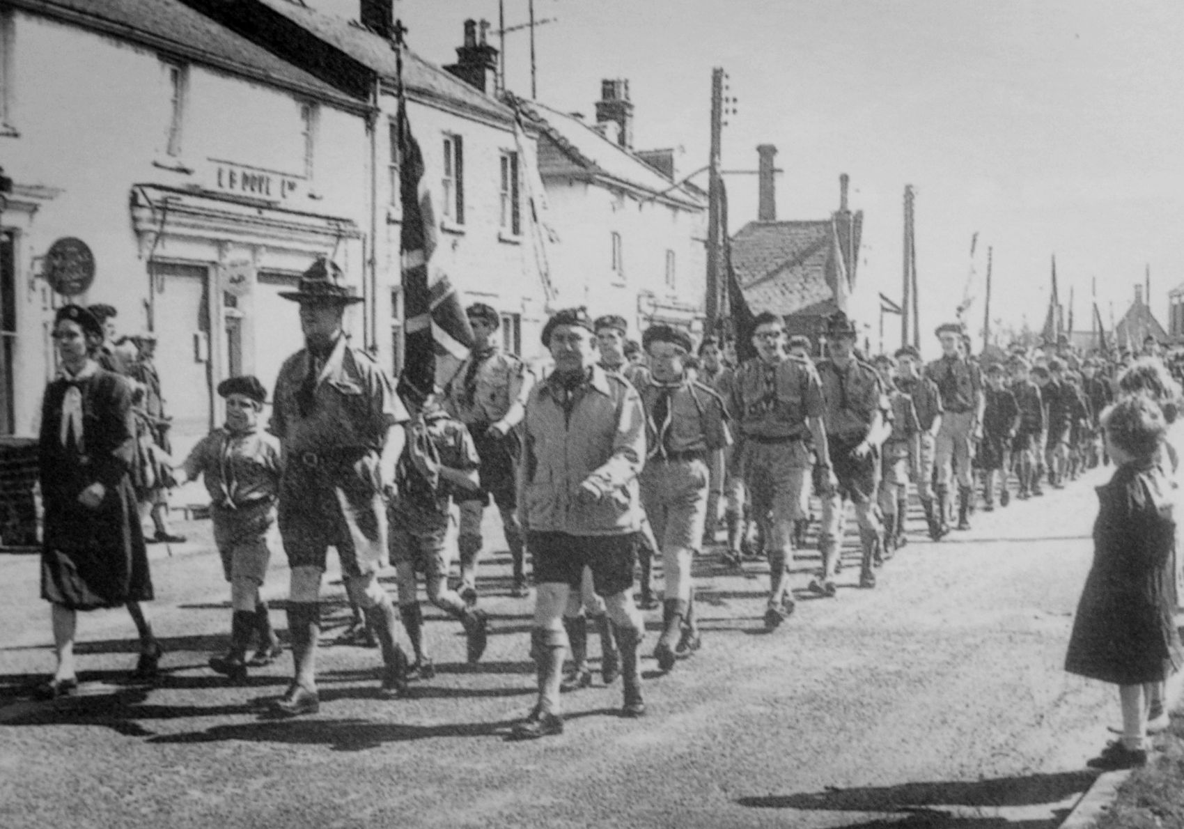 St Georges Day Parade, Crowland 1963