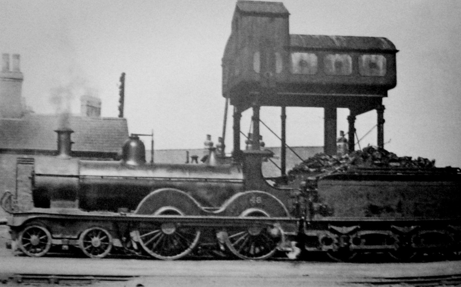 Steam Train at Spalding Railway Station