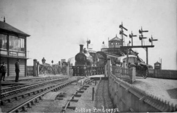 Sutton Bridge Railway 1908