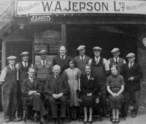 AOS P 2657  W.A Jepson ltd spring gardens spalding. 1938 showing the workforce