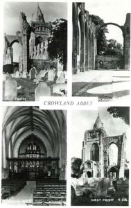 AOS P 2669  crowland abbey multiview