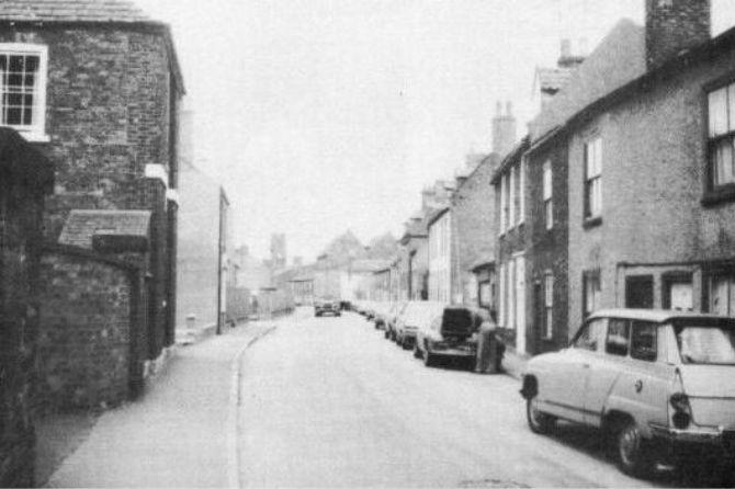 Double Street, Spalding 1950's