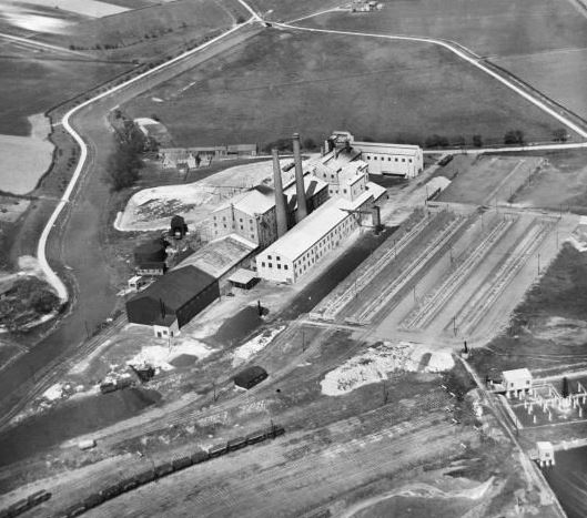 The Anglo-Scottish Sugar Beet Factory, Spalding, 1930