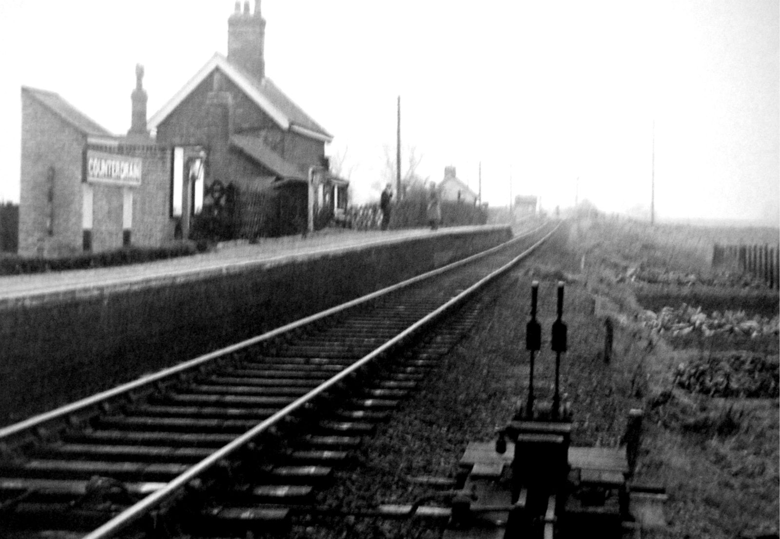 Counter Drain Station, Tongue End 1958