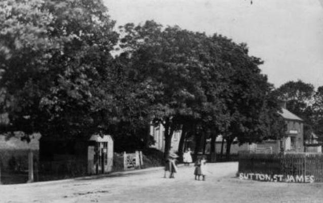 Sutton St James Postcard