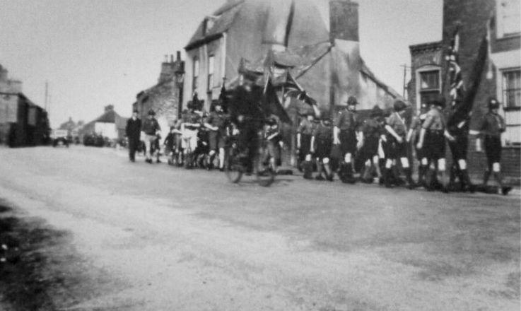 Armistice Day Parade, Spalding