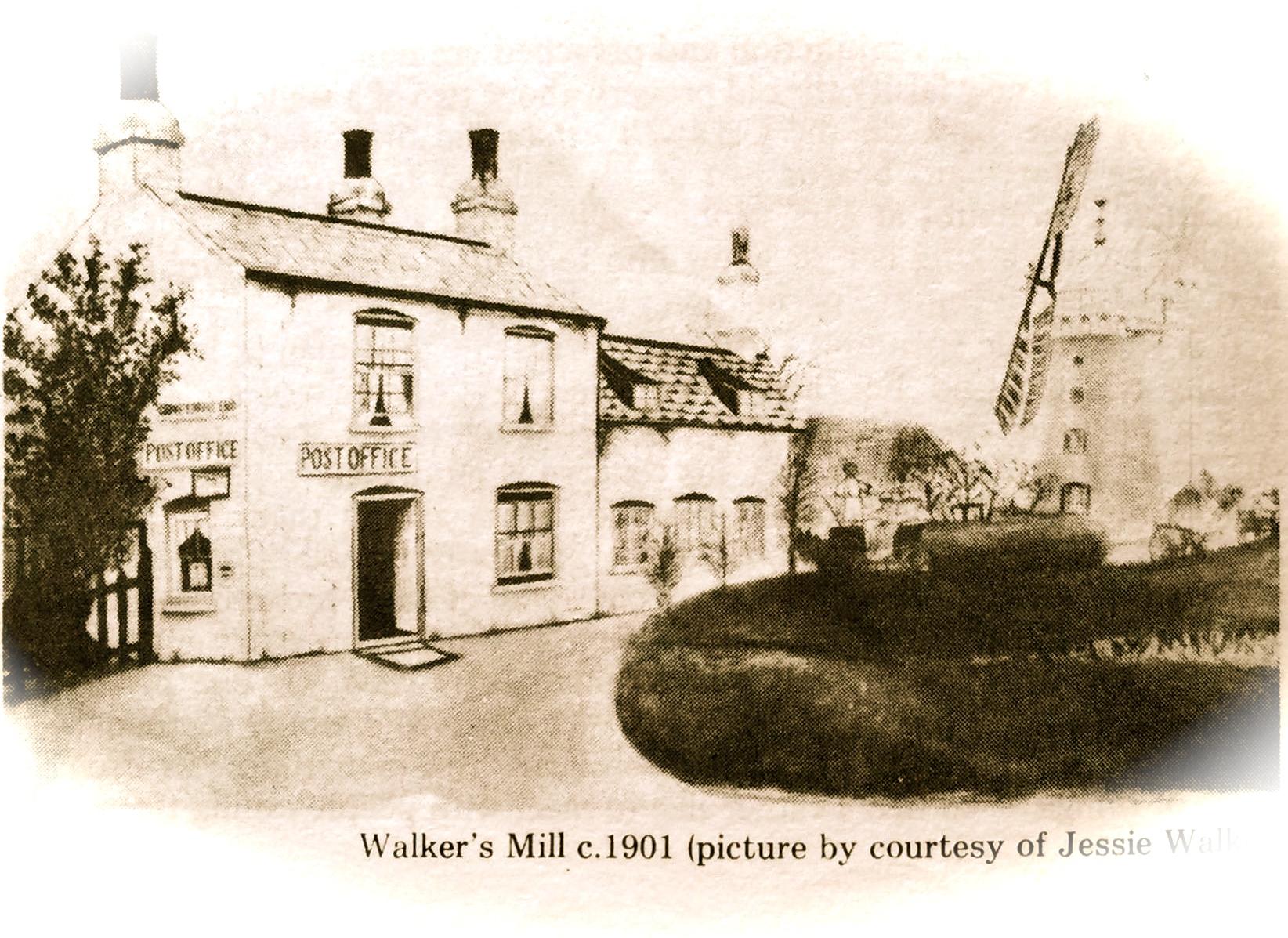 Walker's Mill c 1901