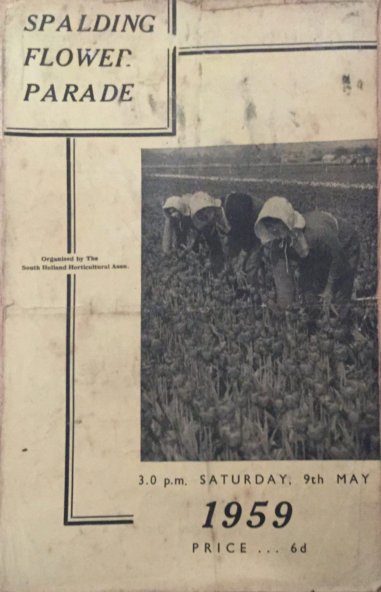 Spalding Flower Parade Programmes