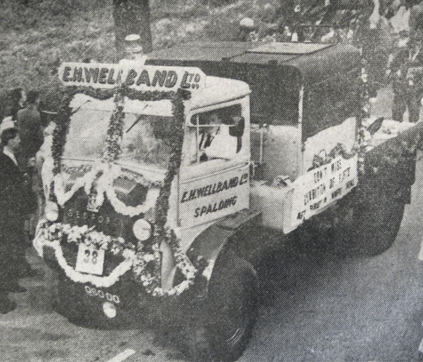 Wellband Breakdown Truck, Flower Parade 1964