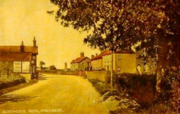 Postcard of Northgate, Pinchbeck