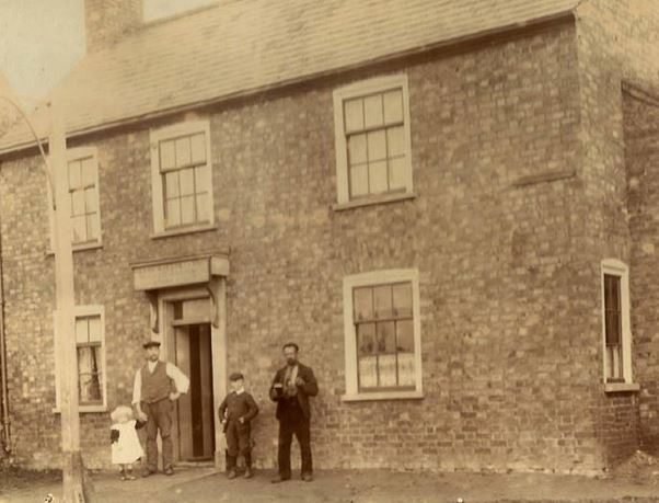 The Ram Inn, Whaplode. Early 1900's