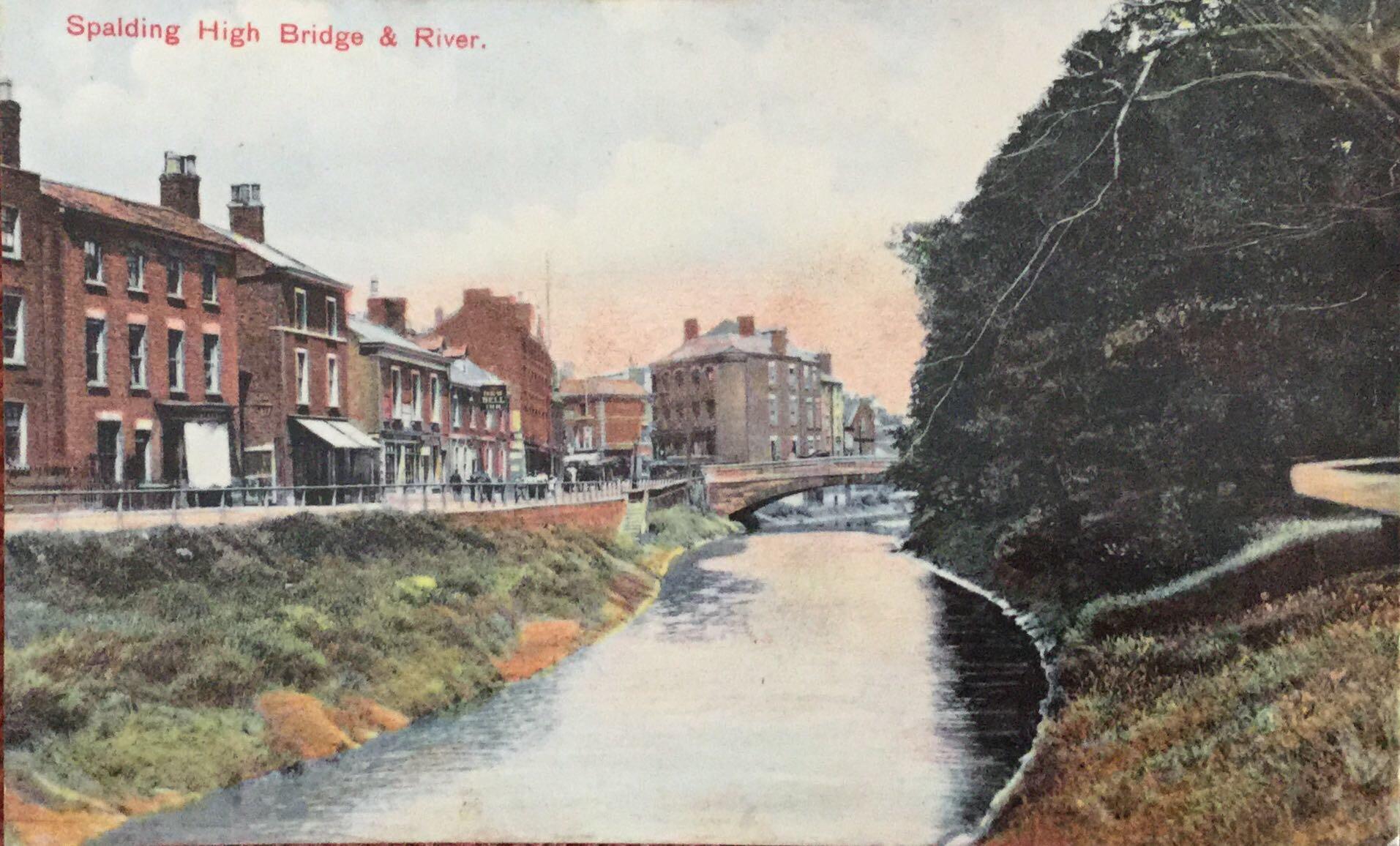 River Welland & High Bridge – Past and Present