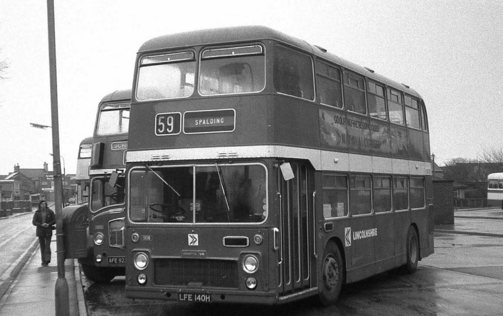 Lincolnshire Roadcar No.2521 at Spalding Bus Station