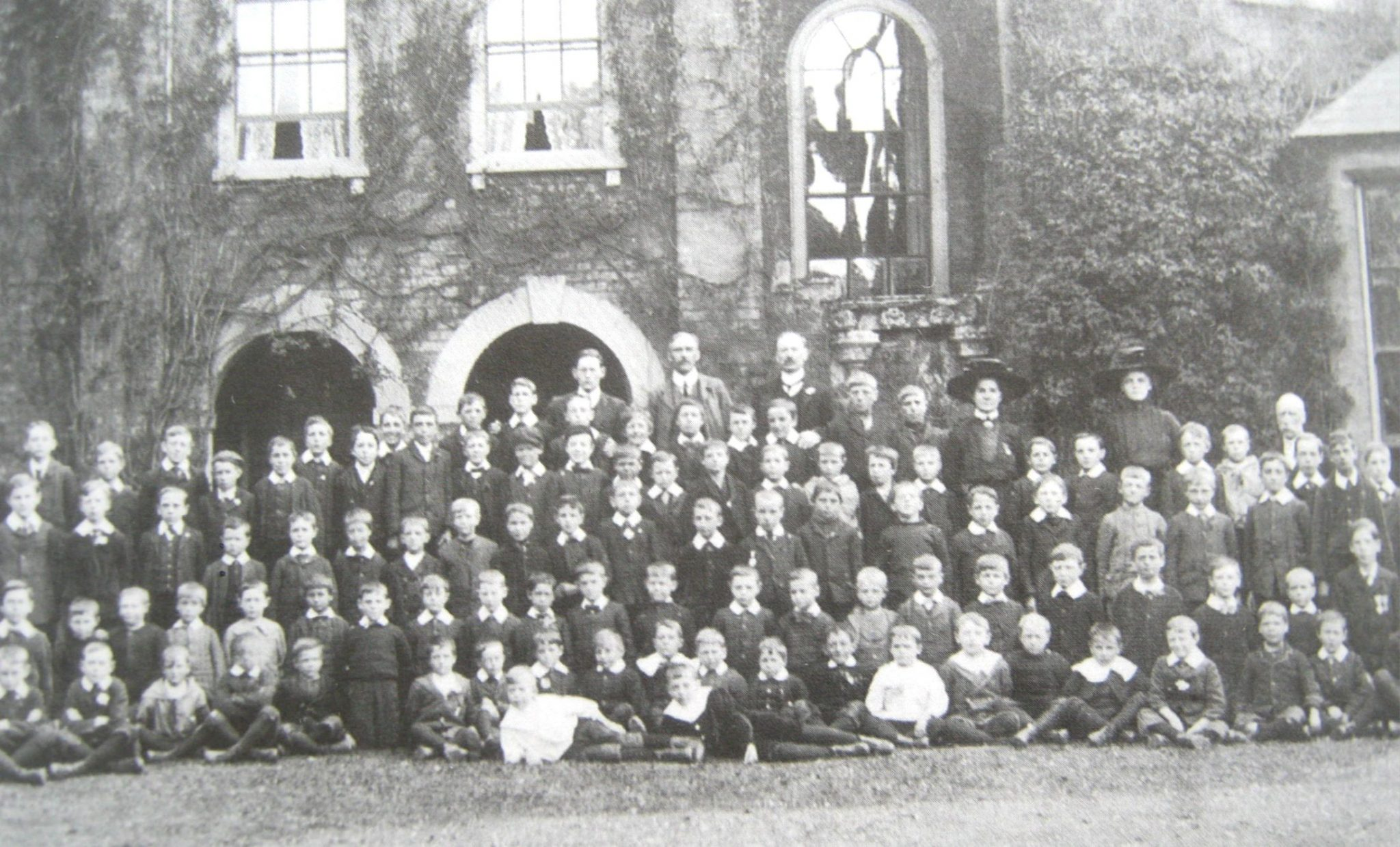 National School, Spalding group photo 1910