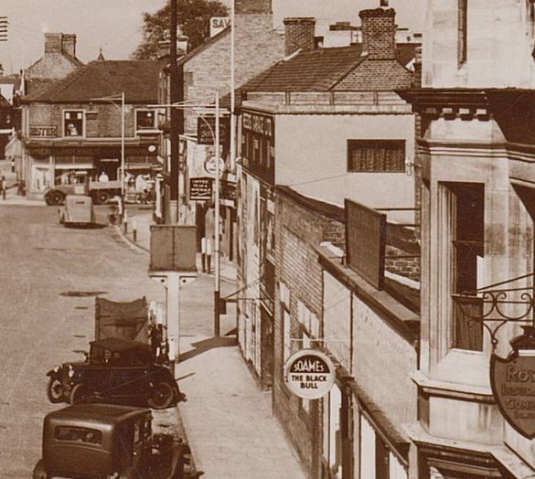 Then and Now – New Rd Spalding 1956