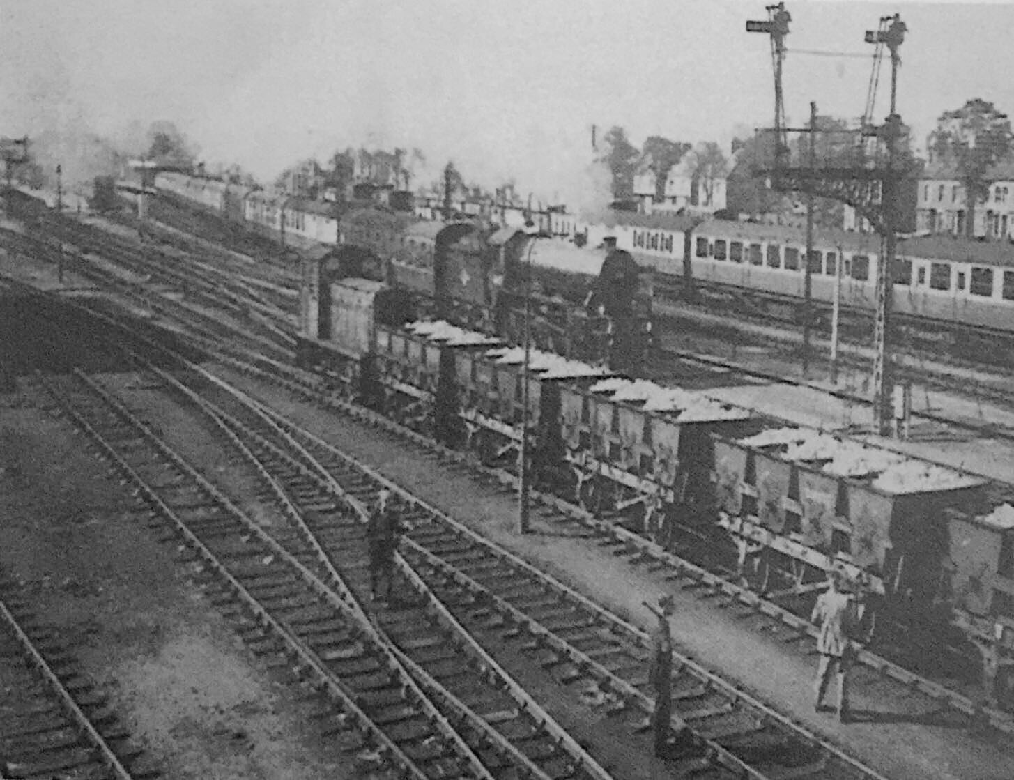 London Train At Spalding