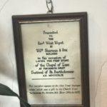 St B West Pinchbeck trowl cert