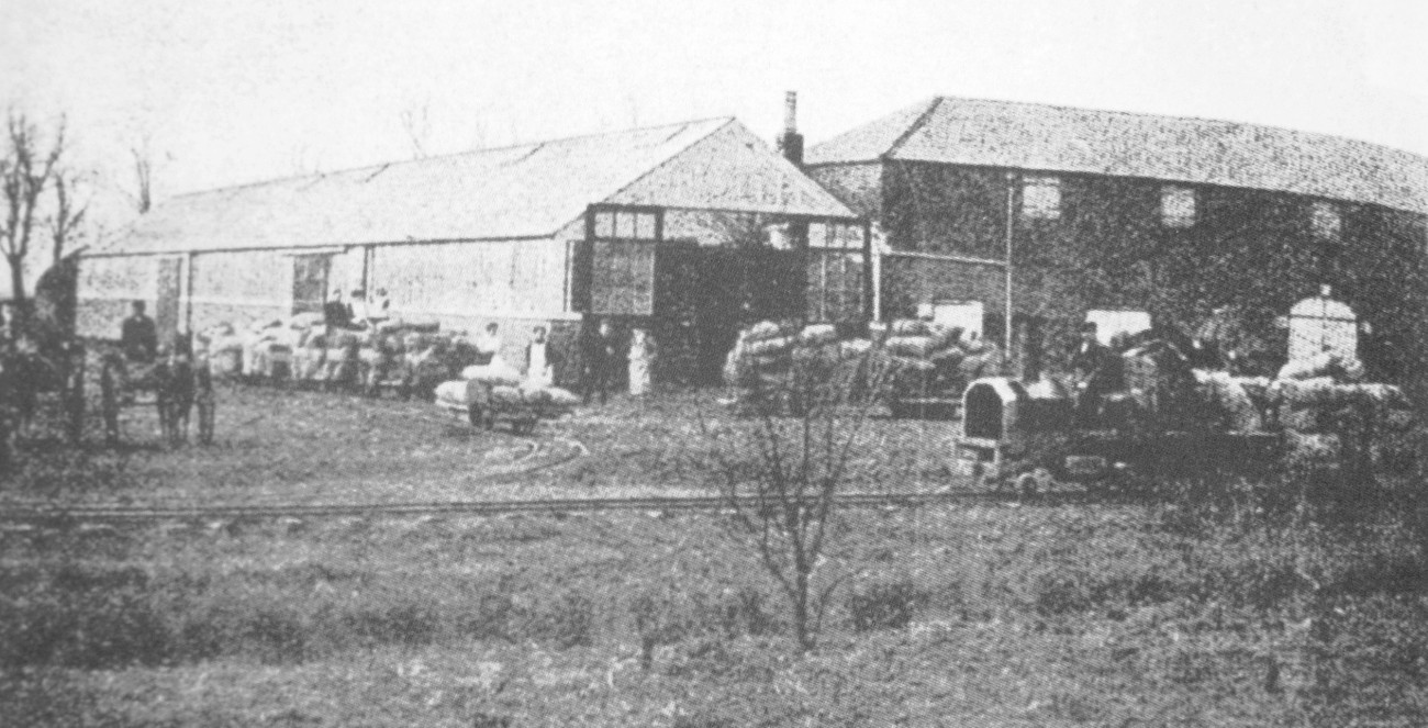 Potato Railway at Goose Hall Farm, Littleworth 1916