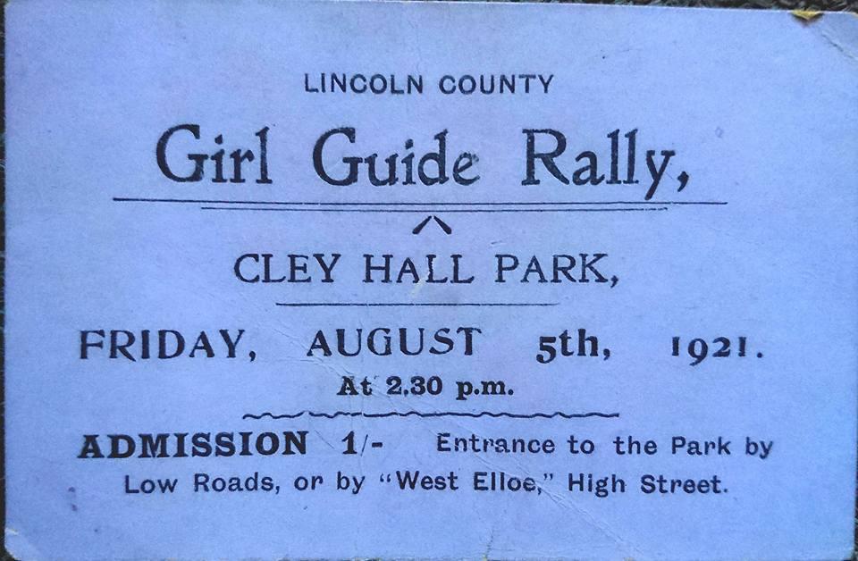 Girl Guide Rally