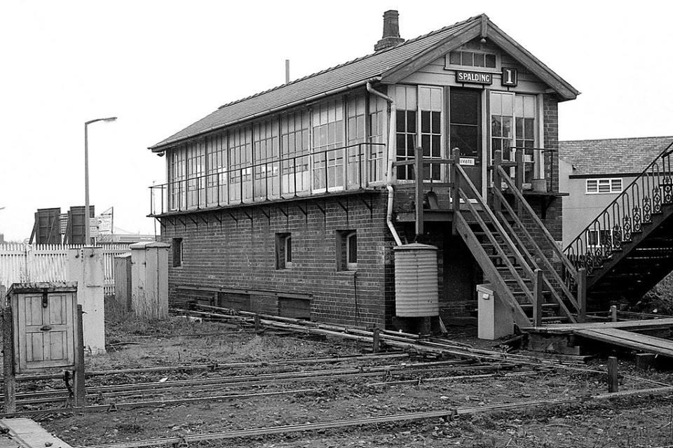 Spalding Station Signal Box No1