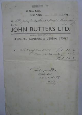 John Butters since 1862