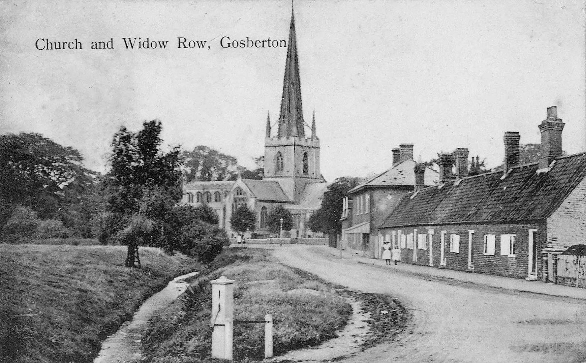 Church and Widow Row, Gosberton