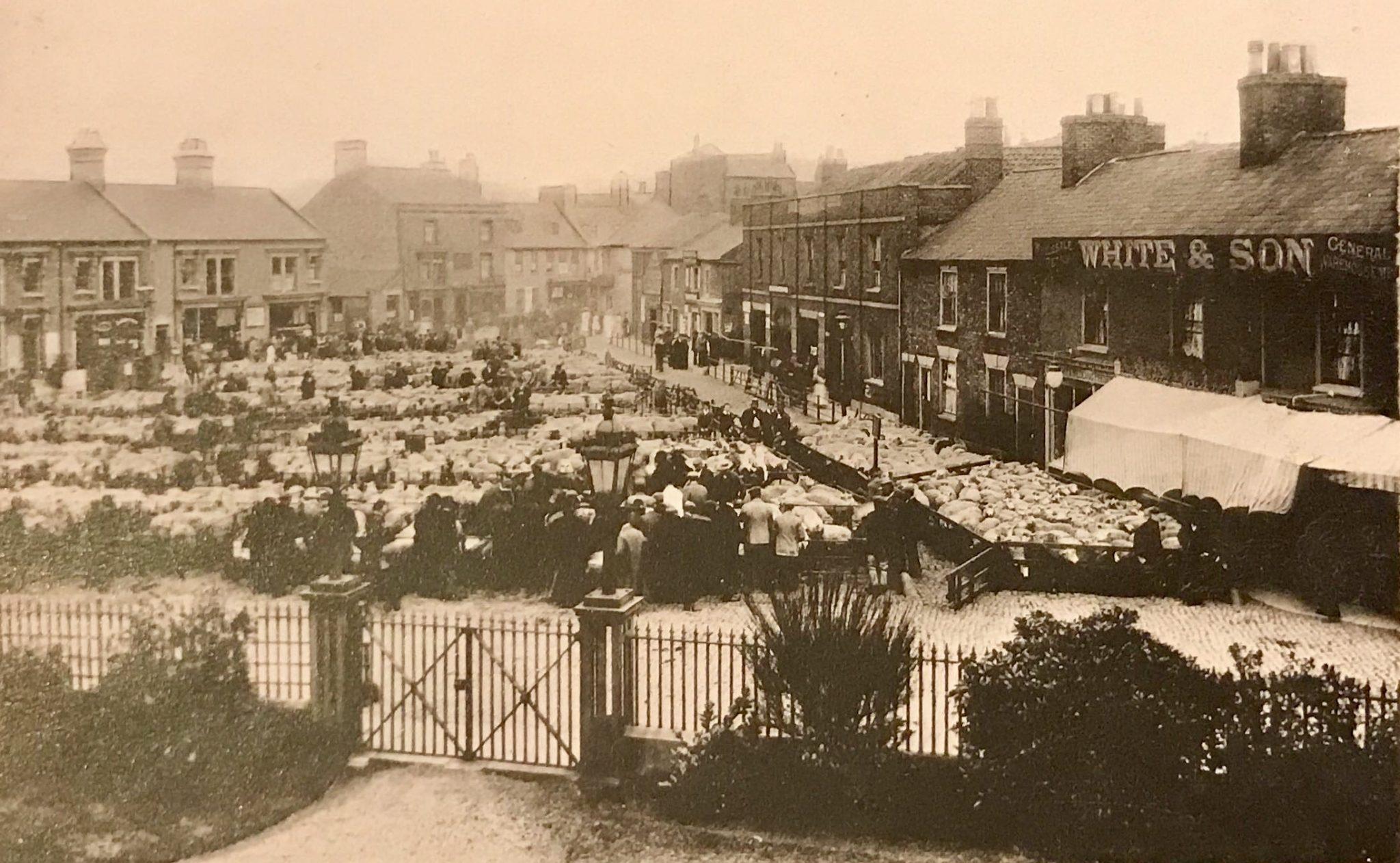 Sheep Market, Spalding c 1900
