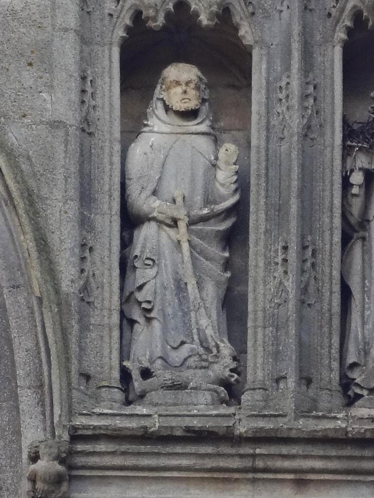 Who was St Guthlac ??