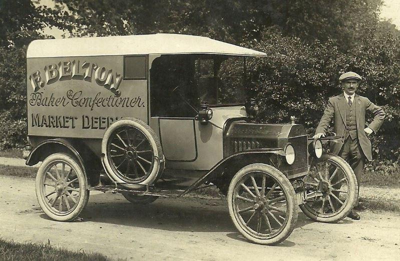 Market Deeping F Belton Delivery Van