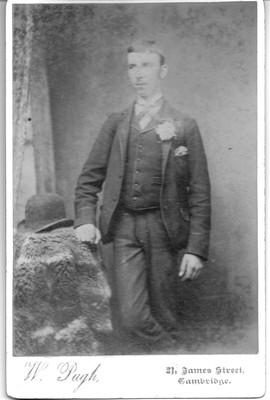 George Robert Banks and his wife; CBF M 010