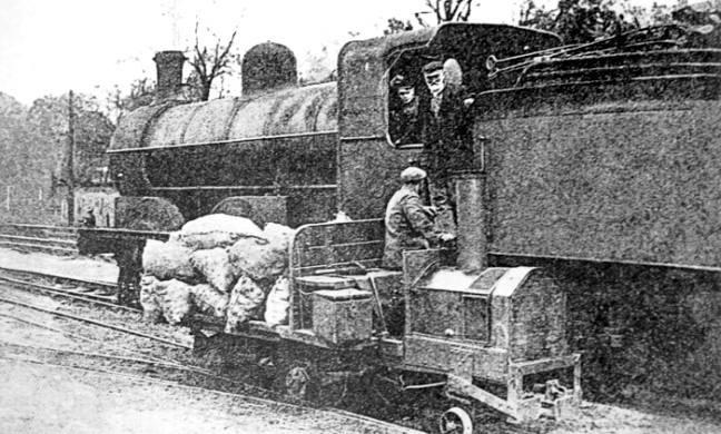 Potato Railway – Dennis Estates – 1926